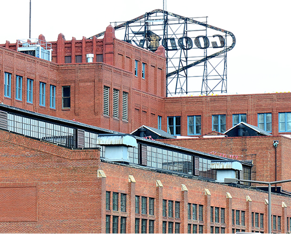 Goodyear Building new windows