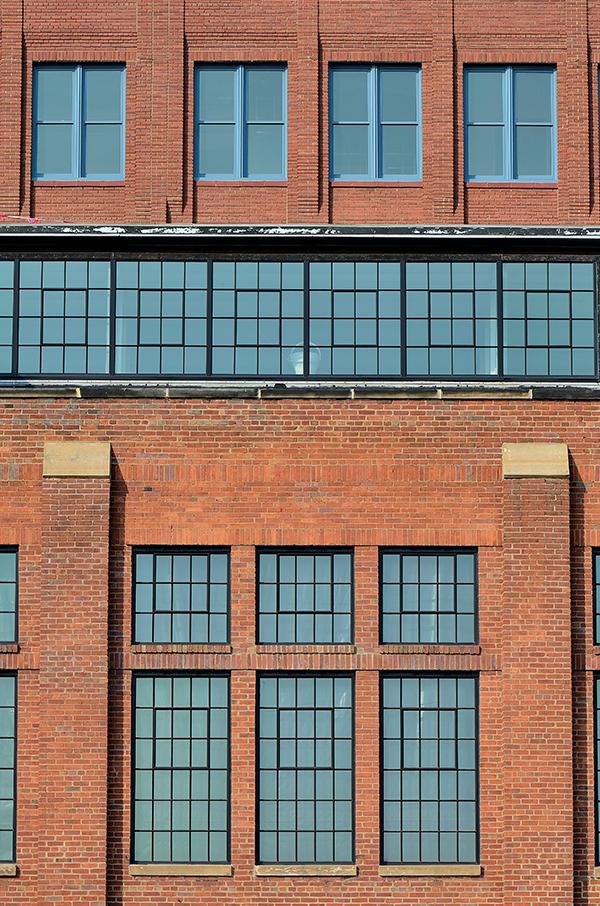 Goodyear Building new windows