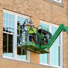 Bowling Green State University Mosley Hall new window installation