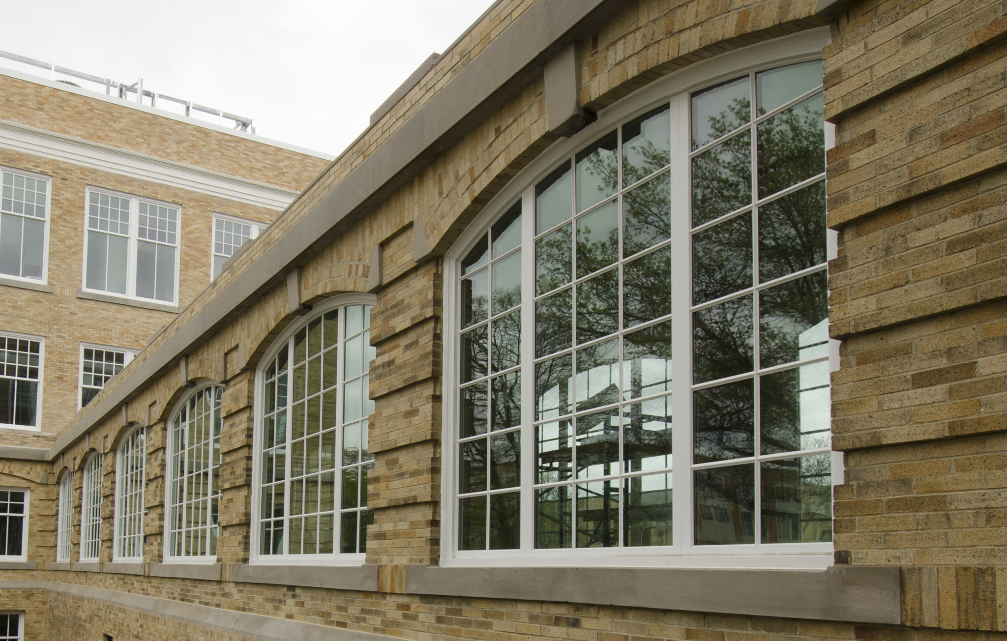 Bowling Green State University new windows