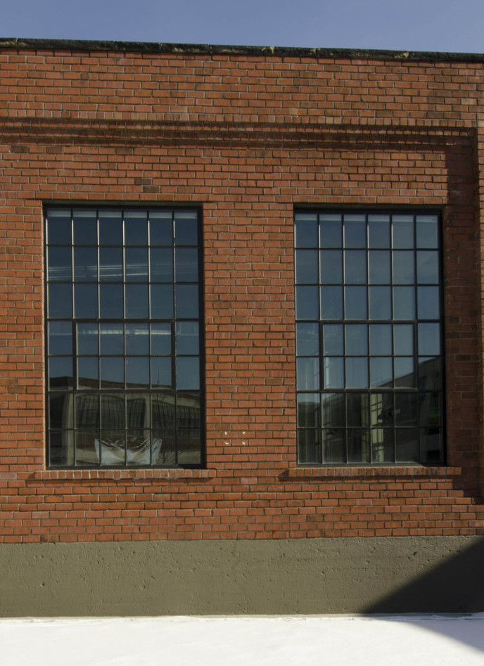 Hercules Lofts with new windows by Jamieson Ricca