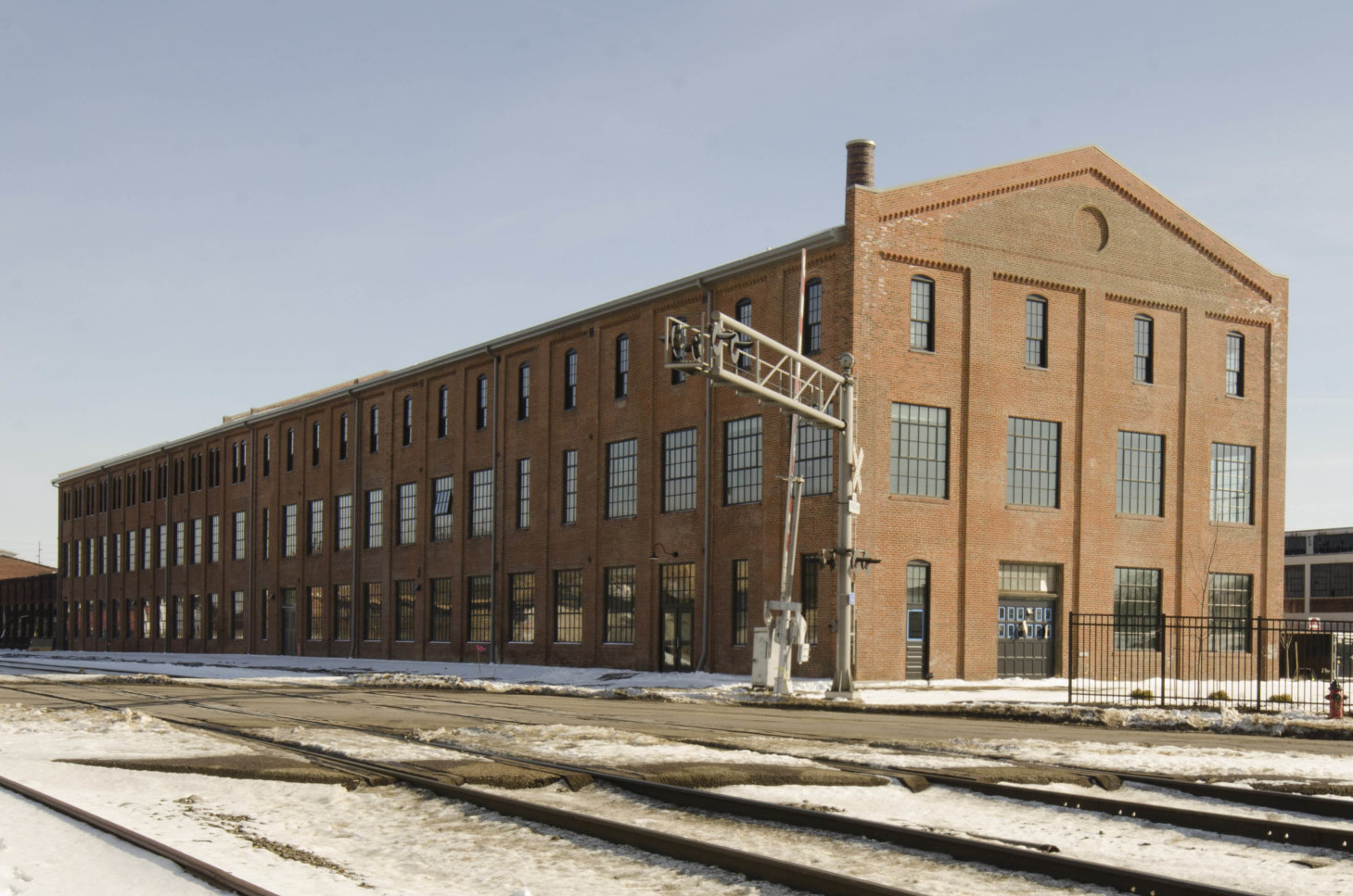 Hercules Lofts with new windows