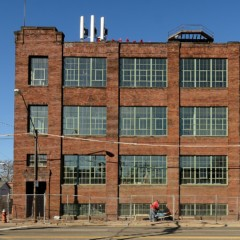 Lion Mills with new windows by Jamieson Ricca