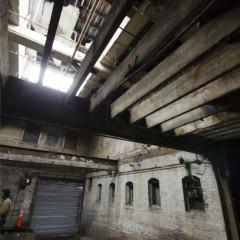 Old interior of J Spang Baking Company